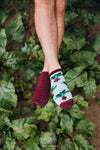Unisex Beetroot Ankle Socks