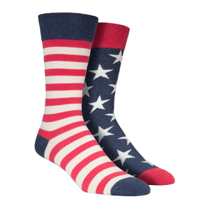 Men's Mismatched Flag Socks