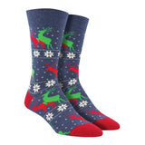 Men's Naughty Reindeer Socks