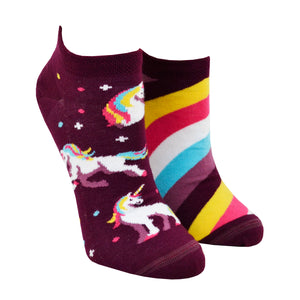 Unisex The Unicorn Ankle Socks