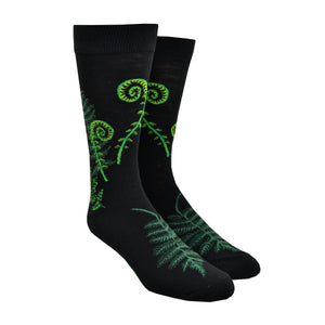 Men's Ferns & Fiddlehead Socks