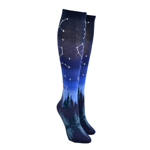 Women's Constellation Knee High Socks