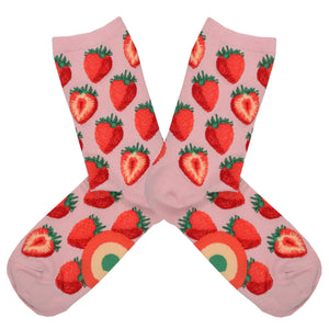 Women's Sweet Strawberry Socks