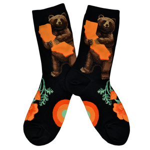 Women's California Bear Hug Socks