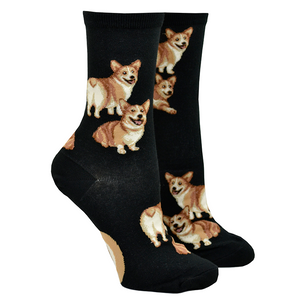 Women's Corgi Butt Strut Socks