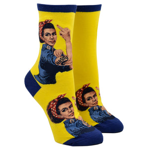 Women's Black Nasty Rosie Socks