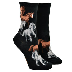 Women's Majestic Horse Socks