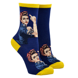 Women's White Nasty Rosie Socks