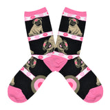 Women's Pugs 'N Kisses Socks