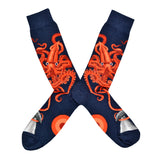 Men's Squid And Whale Socks