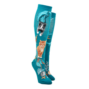 Women's Purrmaids Knee High Socks