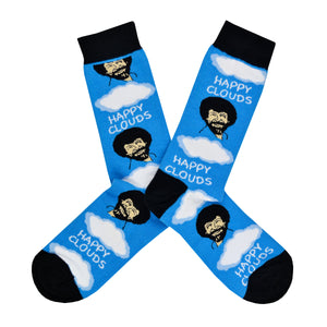Men's Happy Clouds Socks