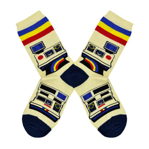 Women's Camera Polaroid Socks