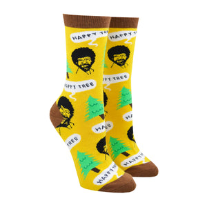 Women's Happy Trees Socks