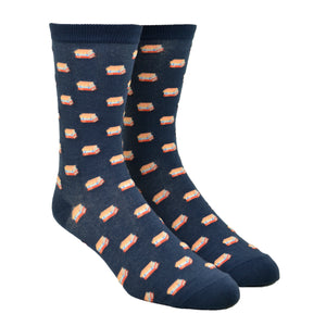 Unisex To Be Read Stacks Socks