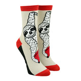 Unisex Book Sloth Socks