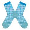 Women's Iridescent Scales Socks