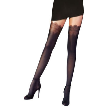 Women's Flirty Lace Tights