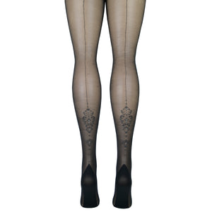 Women's Baroque Backseam Tights