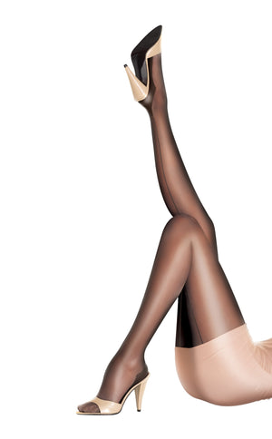 Women's Gloss Backseam Tights