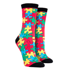 Women's Puzzled Socks