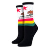 Women's California Flag Socks