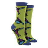 Women's Bamboo Hummingbirds Socks