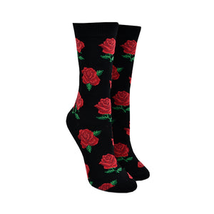 Women's Bamboo Rosy Toes Socks