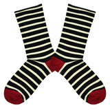Women's Bamboo Sailor Stripe Socks