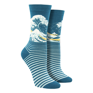 Women's Bamboo The Wave Socks