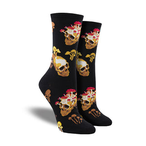 Women's Bone Heads Socks
