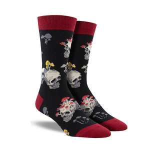 Men's Bone Heads Socks
