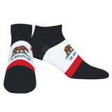 Men's California Bear Ankle Socks