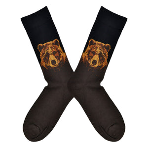 Men's Bamboo Grizzly Socks