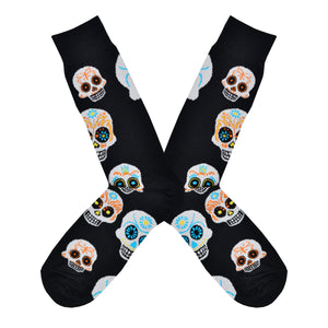 Men's Big Muertos Skull Socks