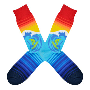 Men's Catch A Wave Socks