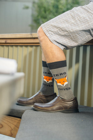 "Men's Zero ""Fox"" Given Socks"