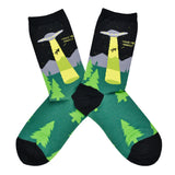 Women's Alien Abduction Socks