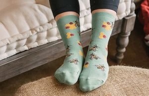 Women's Busy Bees Socks
