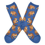 Women's Chipmunk Cheeks Socks
