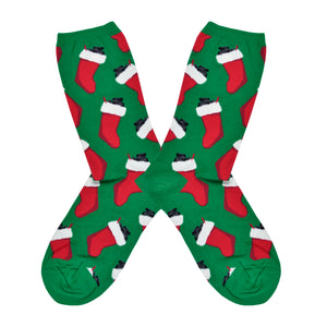 Women's Christmas Coal Socks