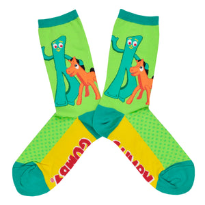 Women's Gumby and Pokey Socks
