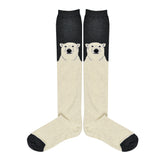 Women's Polar Bear Knee High Socks