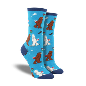 Women's Mythical Kissmas Socks