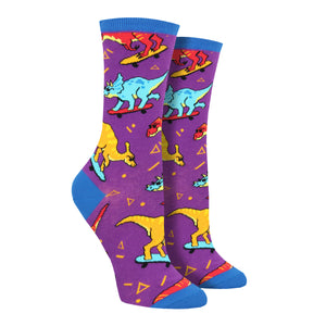 Women's Skate or Dinosaur Socks