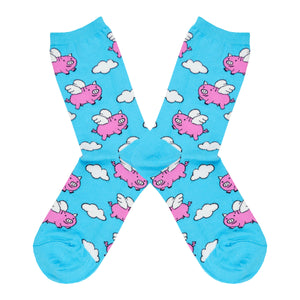 Women's When Pigs Fly Socks