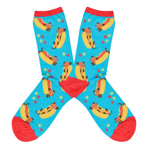 Women's Weiner Dog Socks