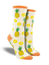 Women's Partial to Pineapple Socks