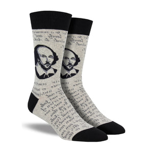 Men's Shakespeare Sonnet Socks