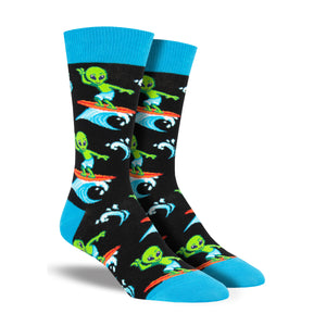 Men's Surfing the Galaxy Socks